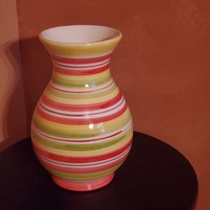 Vintage Vase vibrant colors